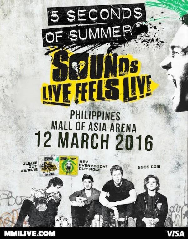 5SOS Live in Manila 2016