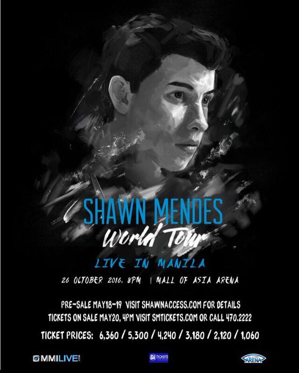 Shawn Mendes Live in Manila 2016