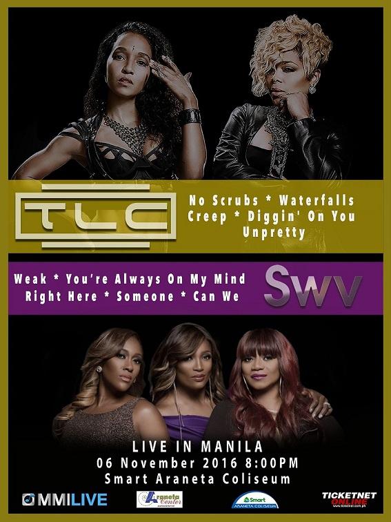 TLC & SWV Live in Manila 2016