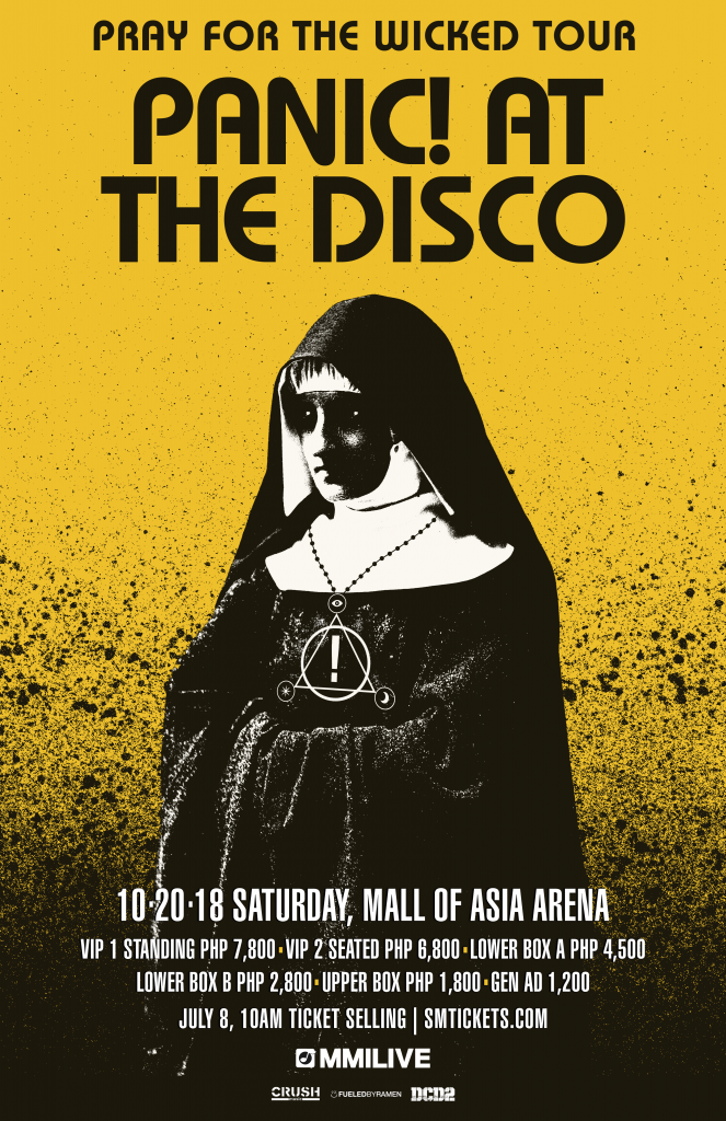 panic at the disco poster